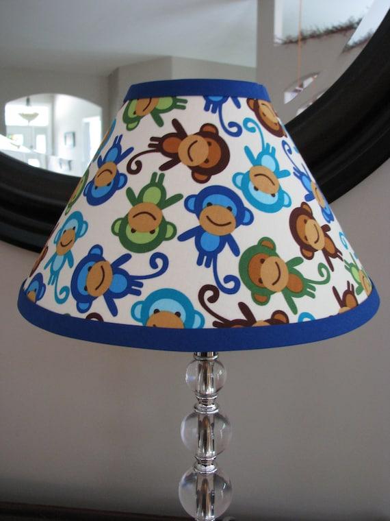 Monkey Lamp shade Urban Zoologie Royal