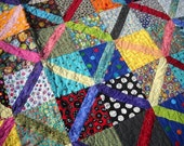 Crossroads Bright Lap or Baby Quilt