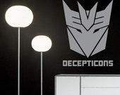 Decepticons Urban Room Wall Decor Vinyl Decal
