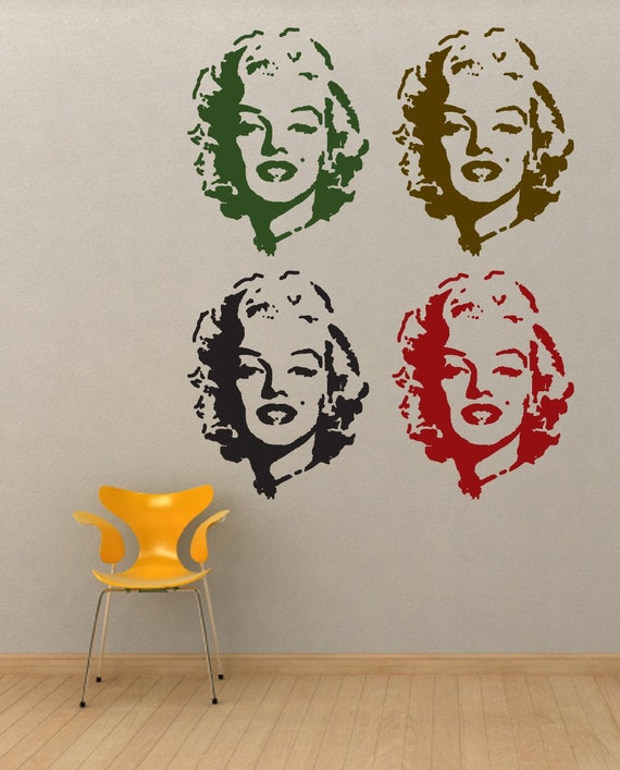 Pop Queen Urban Room Decor Vinyl Wall Decal
