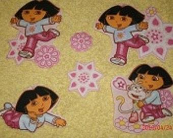 Dora the Explorer  Iron on Appliques