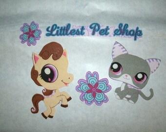 Little Pet Shop iron on appliques