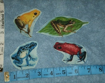 Frogs  Iron On  Appliques