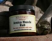 Arnica Muscle Rub 4 oz