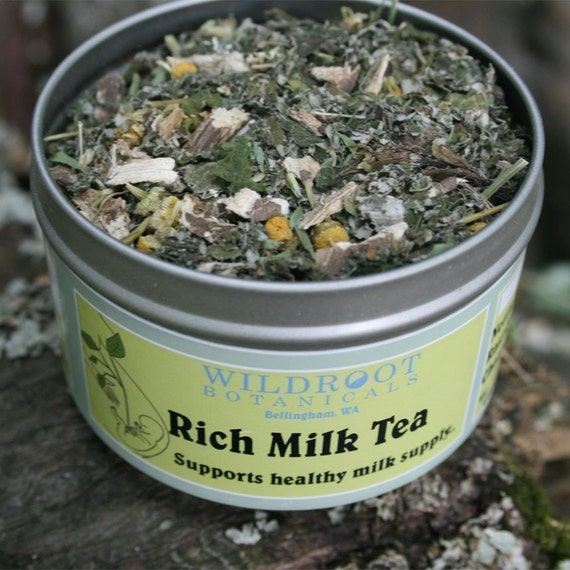 Rich Milk Tea for Nursing Moms at Wild Root Botanicals