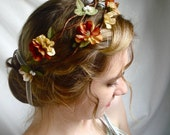harvest wedding - an autumn wreath