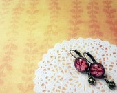 Orange Earring Romantic Jewelry - Illustration autumn fall toast nature stoking stuff