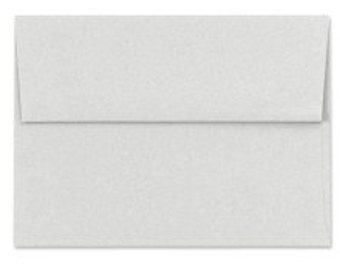 Gray Envelopes - Set of 25 Rain Cloud A7 Envelopes - Perfect for 5x7 Photos and Cards