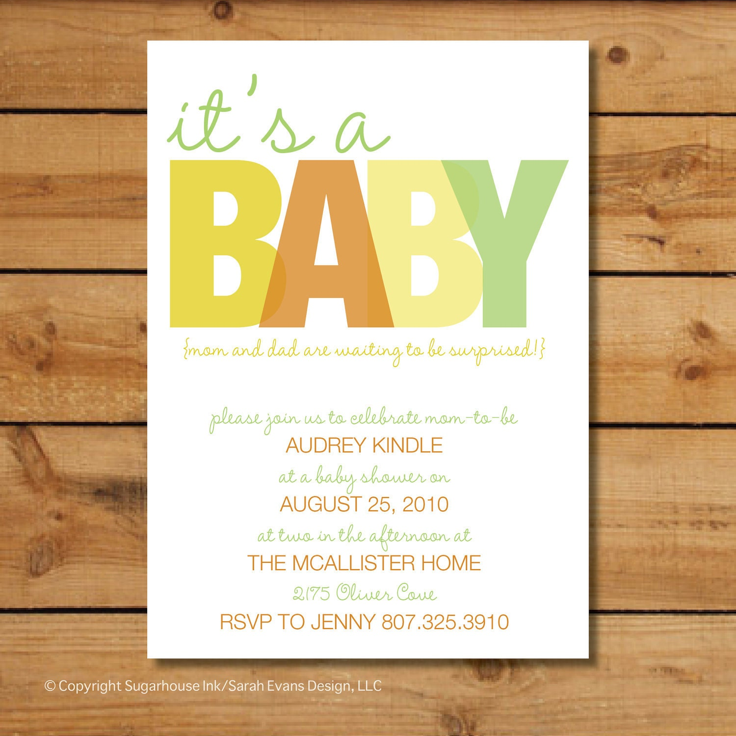 Gender Neutral Baby Shower Invitations It's A... By