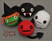 Halloween Treat Balls PDF Sewing Pattern