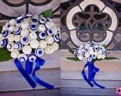 Sky's The Limit Bridal Button Bouquet