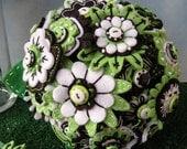 Custom Embroidered Felt Bridal Order