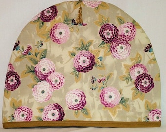 Tea Cozy With Pink Flowers
