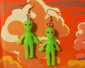 Far Out Alien Earrings