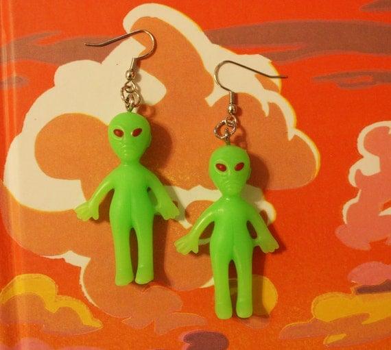 Far Out Alien Earrings