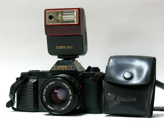 Vintage Film Camera Vintage Canon T50 35 mm Film
