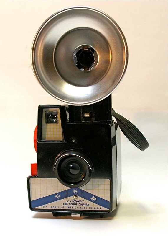 "Vintage Imperial Debonair ""Cub Scout"" Camera with Flash Unit  SALE"