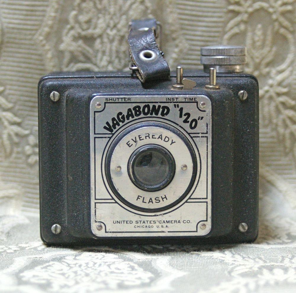 Vagabond 120 Vintage Box Camera Circa 1951