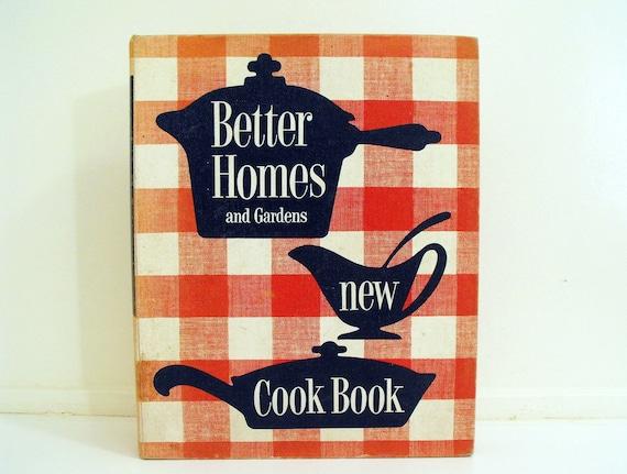 Better Homes & Gardens Cookbook 1st ED. 1953