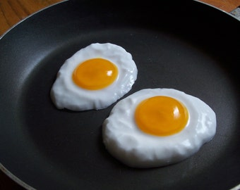 Fried Egg Soap Gift Set of two - Kitchen Soap