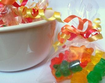 Gummy Bear Soap - PARTY FAVORS - set of 10 favors