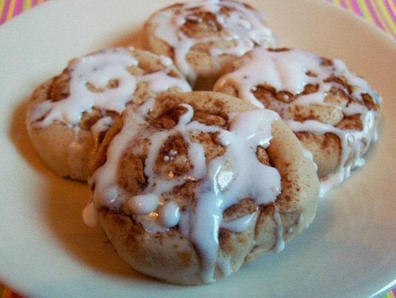 Baby Cinnamon Bun Soaps - Gift Set of 4 - VEGAN
