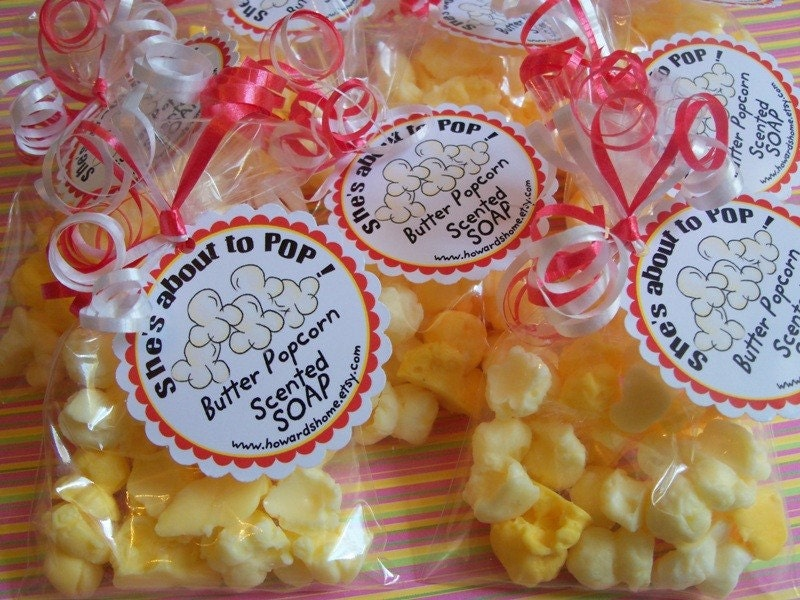 popcorn soap 10 baby shower favors about to pop looks