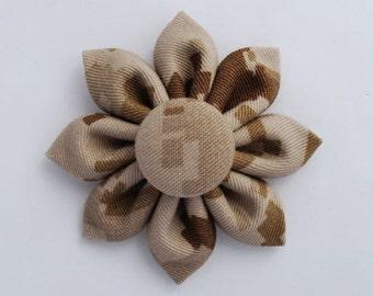 USMC Marines Desert Digital Camo Small Fabric Sunflower