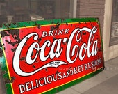 Coca Cola Photo -Coke Gift -Street Photography -Mid Century -Americana -Red Kitchen Decor -Coca Cola Gift -Colorado Fine Art Photography