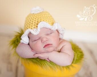 Daisy..... Newborn Hat.... Photography Prop