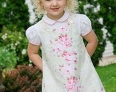 Shabby Chic Floral Cotton Jumper Dress