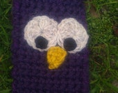 FREE shipping - purple owl cellphone case