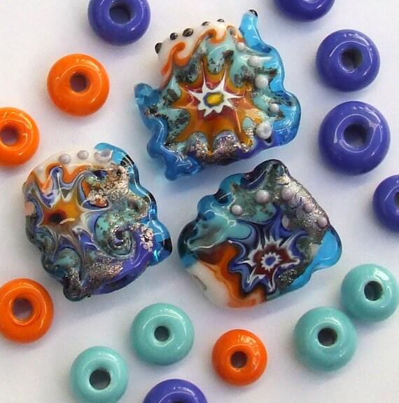 Silvia's Lampwork Glass Beads (3,14)