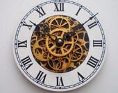 Skeleton Gear Clock