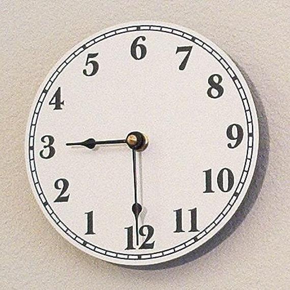 Australian Clock or Upside Down Clock