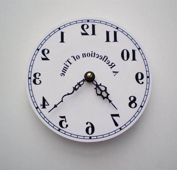 Reverse Time or Mirror Clock