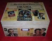 Commemorative Obama Memory Box