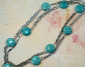 Turquoise Pop Necklace