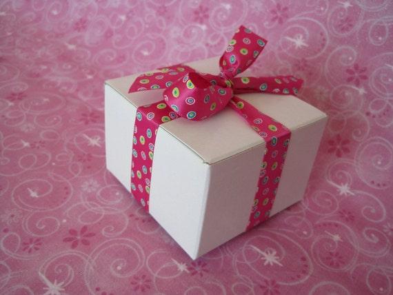 White Boxes, White Gift Boxes, Kraft Boxes, Folding Boxes, Tuck Fold Box, Folding Kraft Box 3x3x2 Pack 11