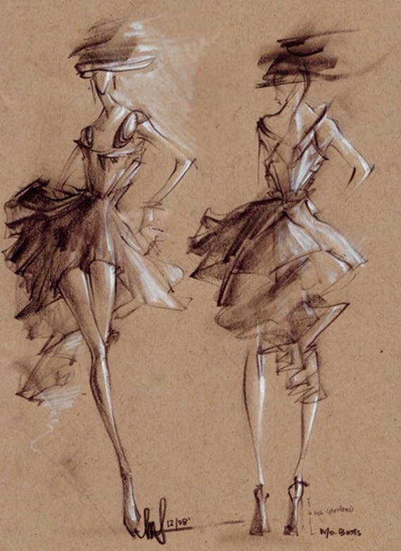 Fashion Couture Dresses Fashion Illustration Couture