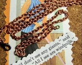 BULK BOUNTY LOT 5 Vintage 30 in. copper chain necklaces with love