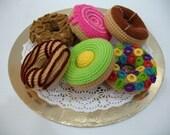 Crochet Pattern- DONUTS - Playfood / Toys  (00437)