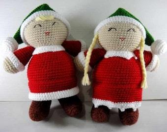 Crochet Pattern - SANTA'S LITTLE HELPER - Christmas / Toys / Decoration  (00395)