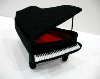 Crochet Pattern - PIANO - NEW - Toys - PDF  (00411)