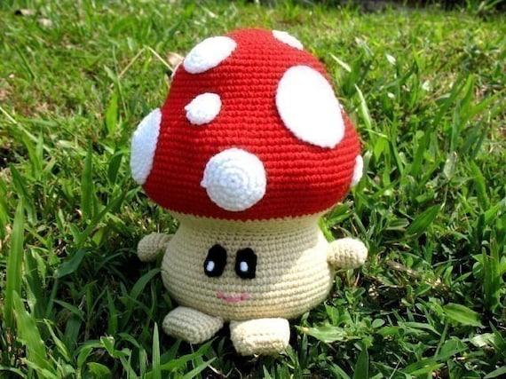 Free Amigurumi Mushroom Patterns : Crochet Pattern MUSHROOM Toys PDF