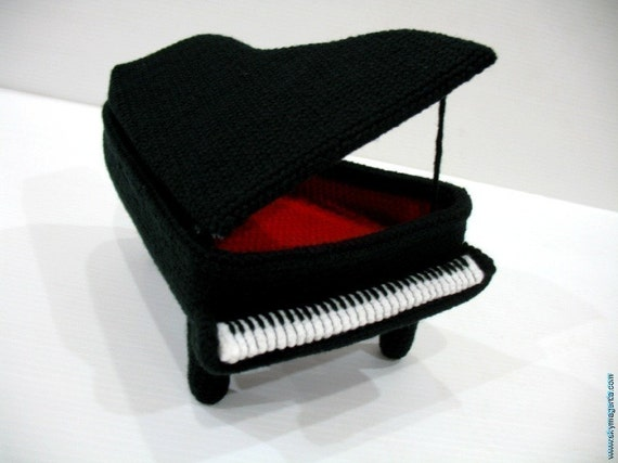 Crochet Pattern For Piano Afghan : Crochet Pattern PIANO NEW Toys PDF 00411