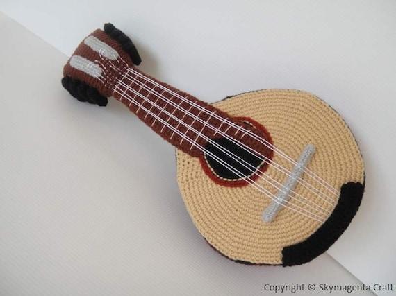 Crochet Pattern - MANDOLIN - in pdf  (00455)