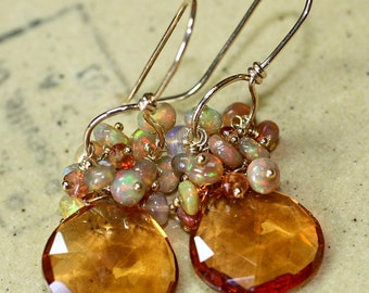 ON HOLD MADEIRA Opal Gemstone Earrings