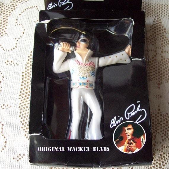 Wackel Elvis Presley Original Doll Puppet for your Car Dancing