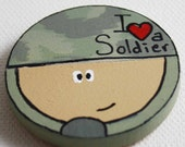 SALE - Soldier Magnet